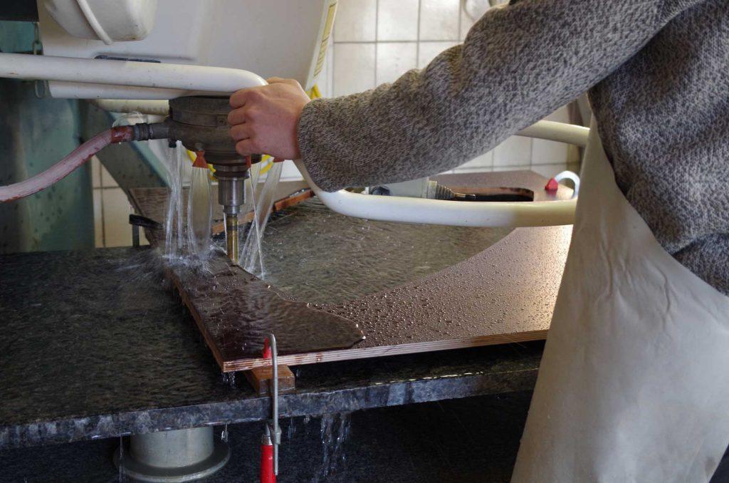 dafner produktion wasserstrahl